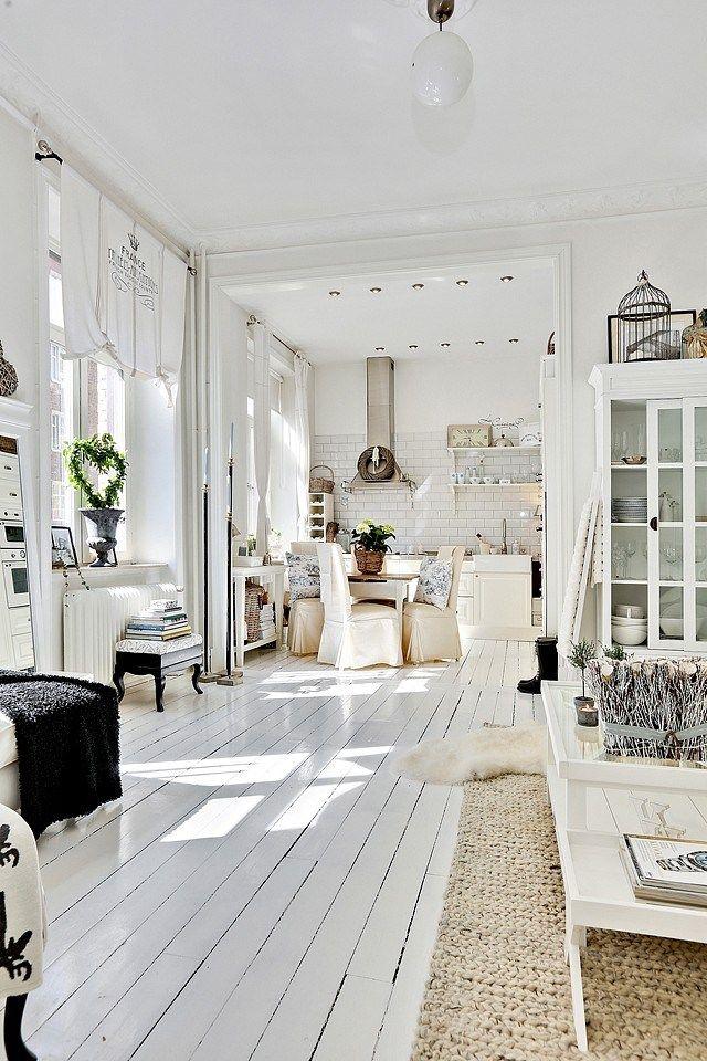 bb47bde9d91262 Femina   25 idées pour un intérieur bois et blanc