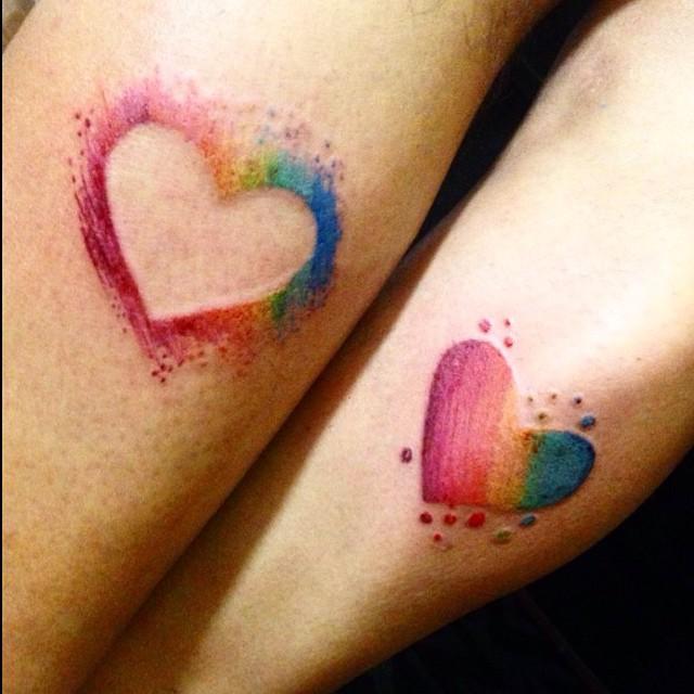 femina 30 tatouages de couples inspirants. Black Bedroom Furniture Sets. Home Design Ideas