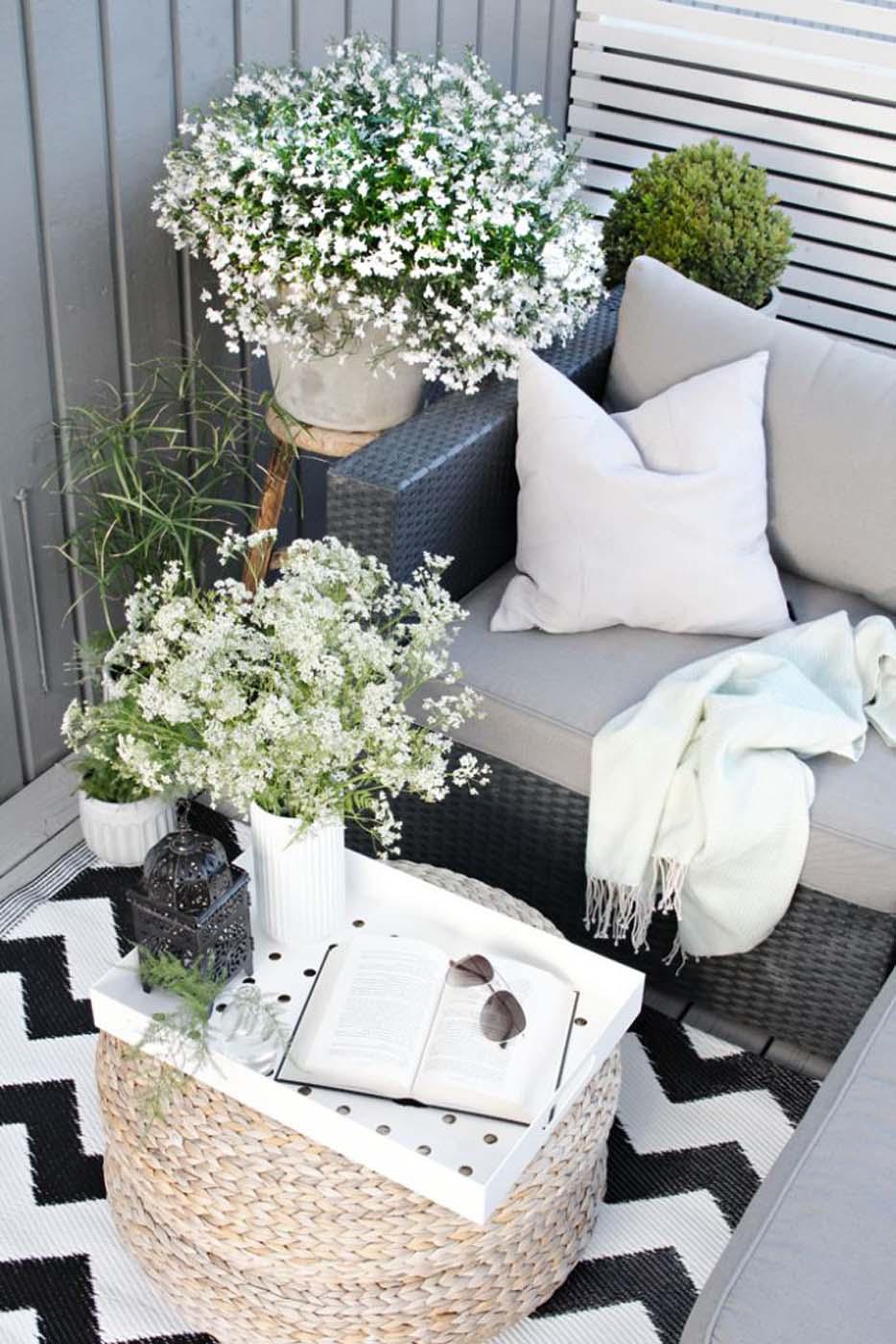 Aménager Son Balcon Avec Des Palettes femina | 20 inspirations de balcons et terrasses