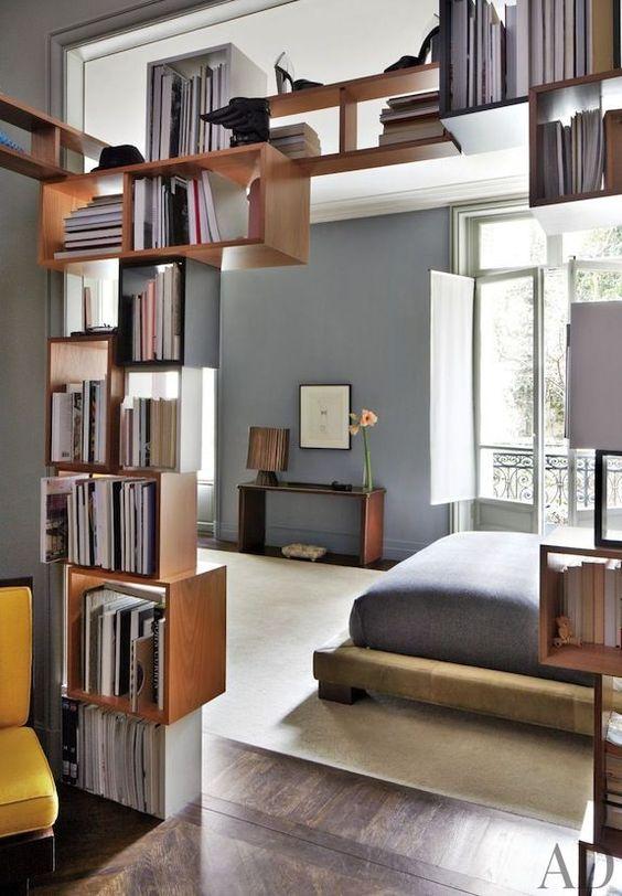 Idées Déco Bibliothèque DIY Pinterest Encadrer Porte