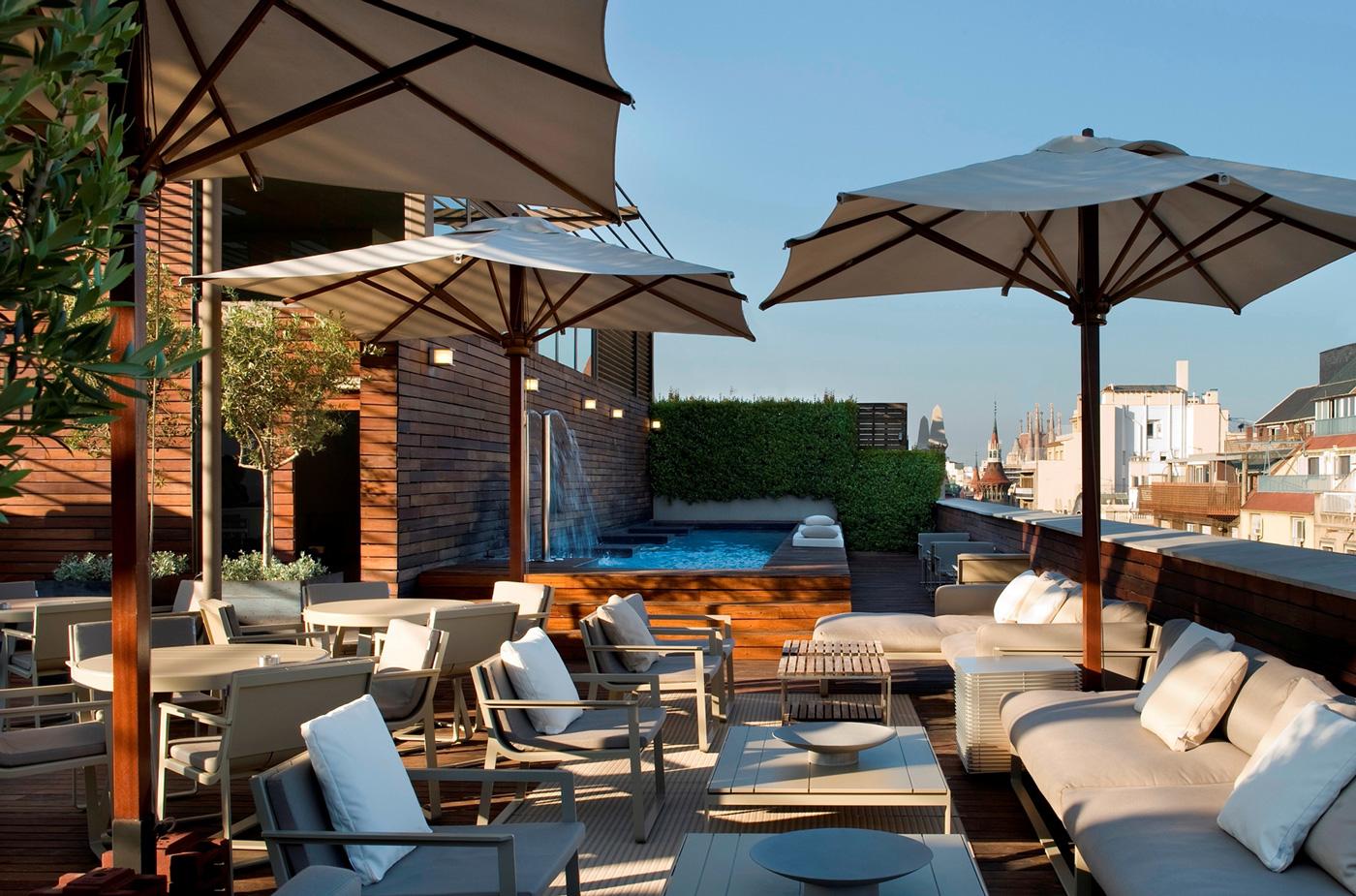 Femina 8 h tels barcelone avec piscine - Barcelone hotel piscine interieure ...