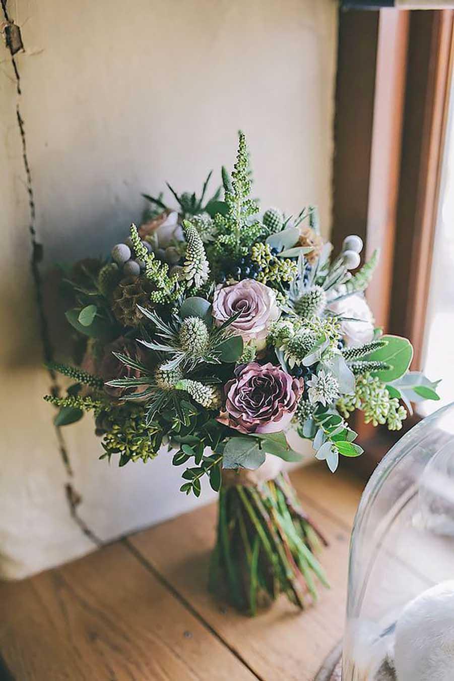 Comment Faire Un Bouquet De Roses femina | repérés sur pinterest: les 30 bouquets de mariée