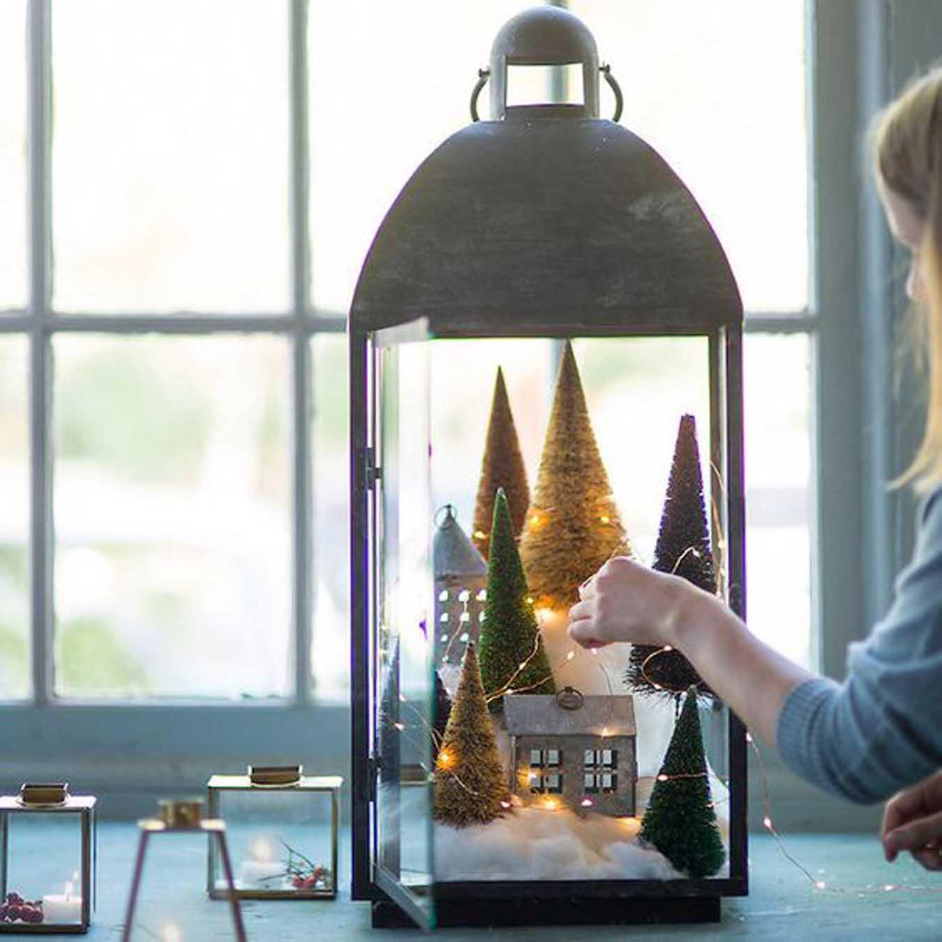 Deco De Noel Lumineuse Pour Fenetre femina | noël: 30 idées pour une déco nordique