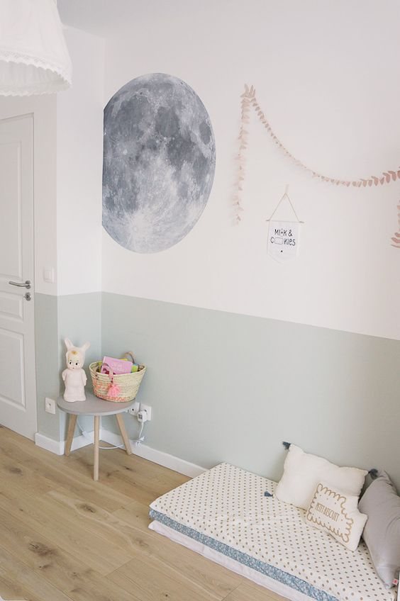 Pinterest Décoration Inspiration Vert De Gris Sauge Chambre Du0027enfant Pastel